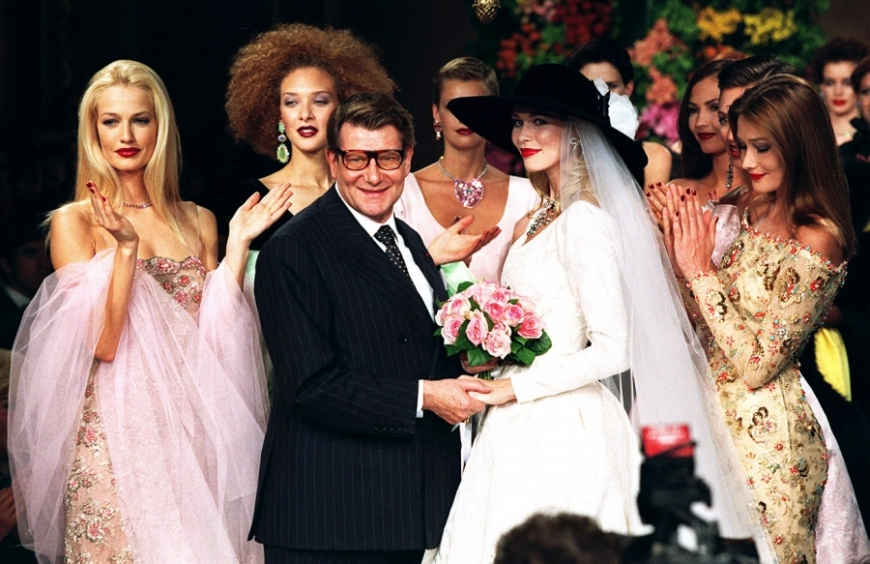 YVES SAINT LAURENT, one of the most iconic fashion designers of the 20th century