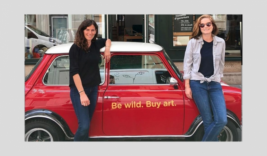 THEY ARE WILO & GROVE: FANNY SAULAY AND OLIVIA DE FAYET, TWO PARISIANS WITH TALENT...