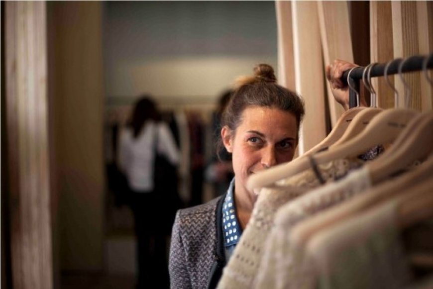 Isabel Marant, one of Paris's best loved stylists