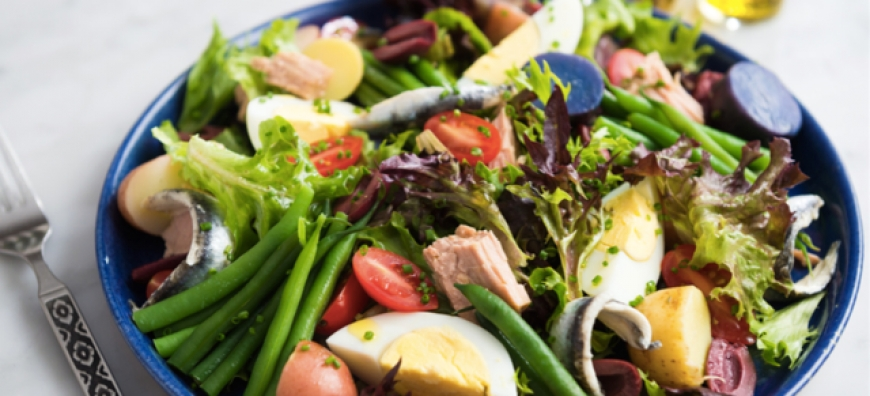 THE NICOISE SALAD OF THE CHEF*** DANIEL BOULUD