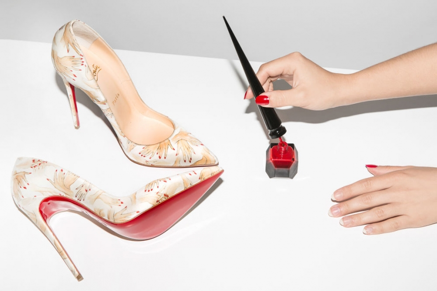 CHRISTIAN LOUBOUTIN, THE FRENCHY WITH THE RED SOLES SIGNATURE