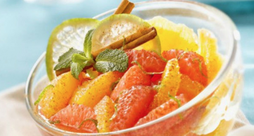 LA CROISETTE SPICED CITRUS FRUIT SALAD