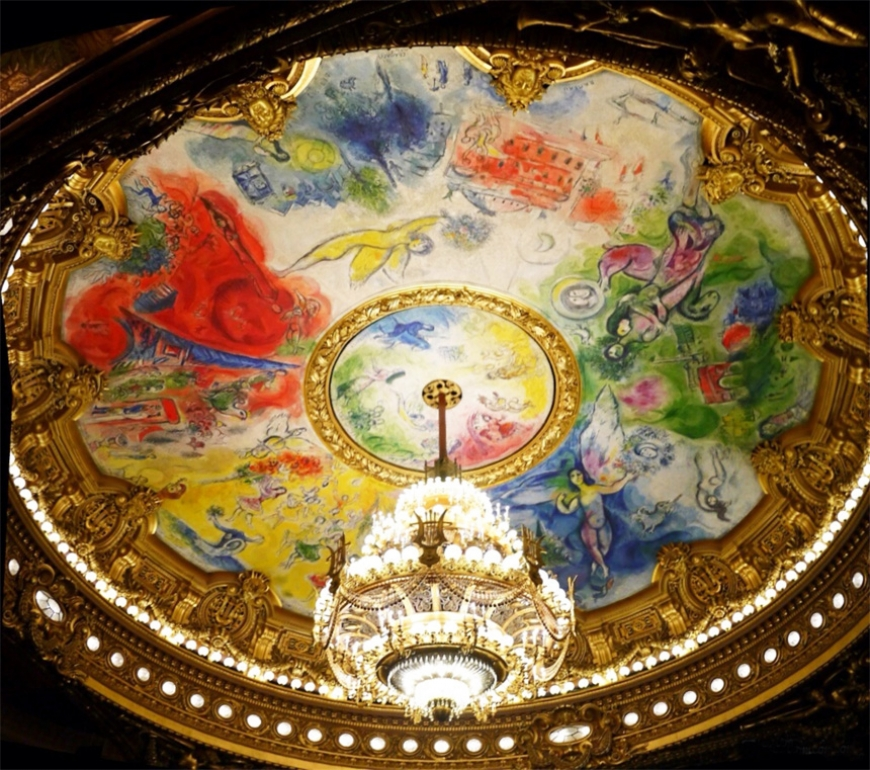Opera garnier, the place to see and be seen...