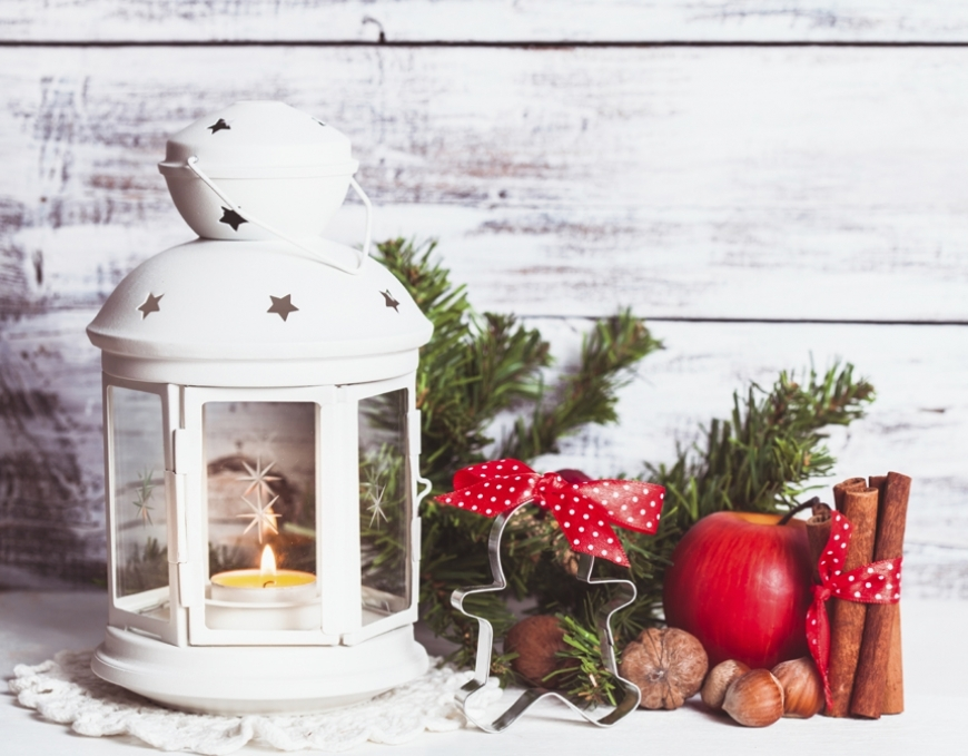 HOW TO PREPARE A SHABBY CHIC PARISIAN CHRISTMAS