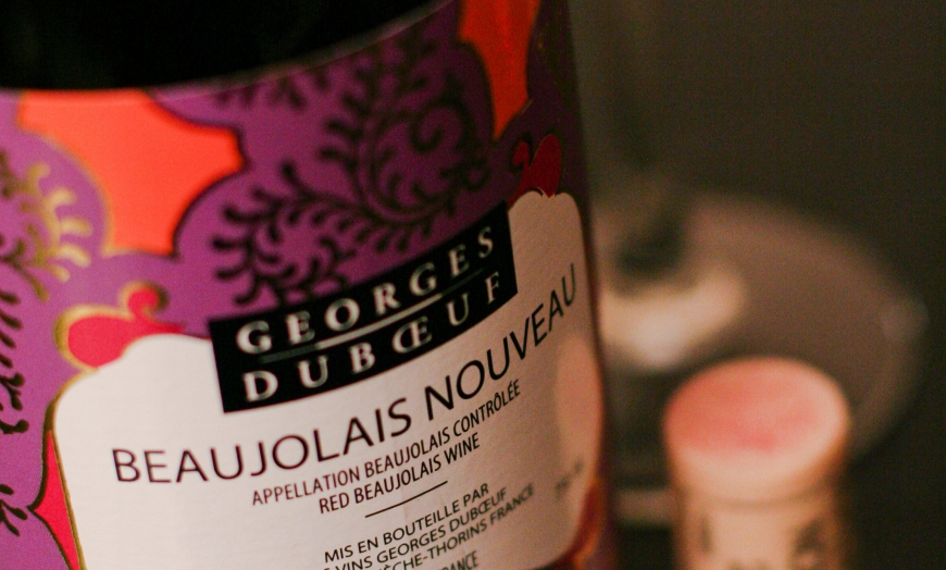 Parisian welcome winter with Beaujolais