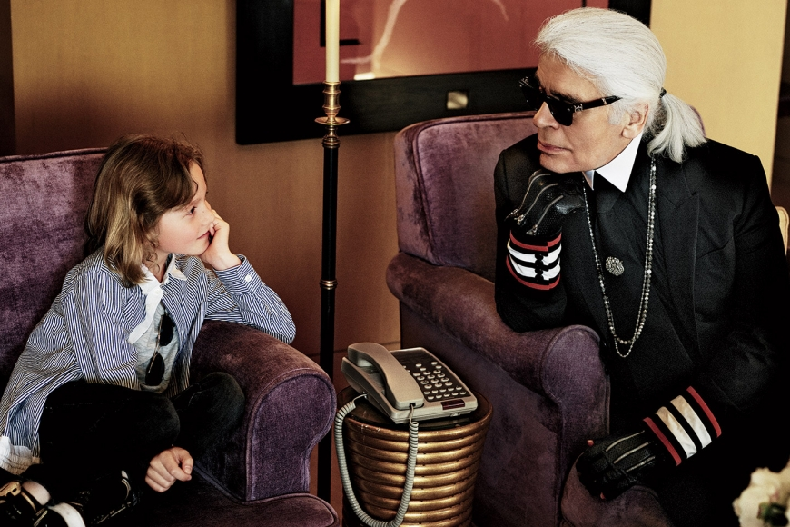 """What I love best in life is new starts"" Why do we love so much Karl Lagerfeld…?!"