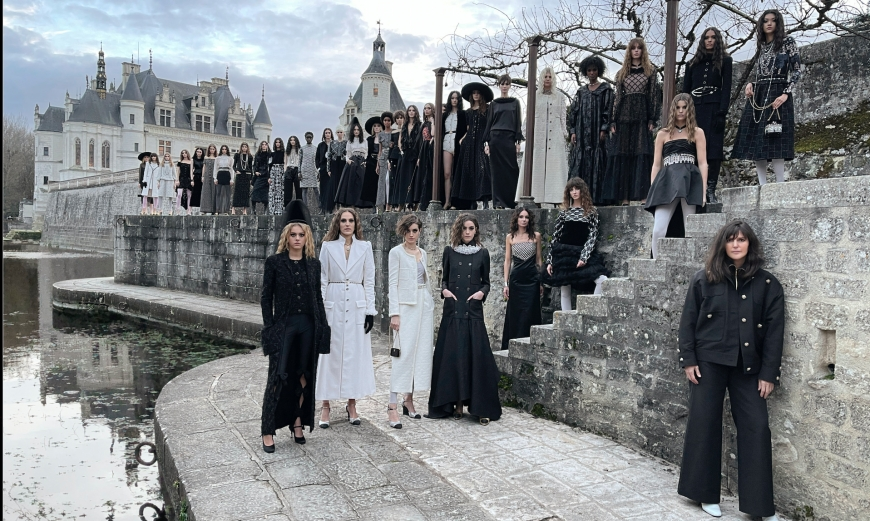 CHANEL MÉTIERS D'ART 2021, IS MAGIC AT THE CHÂTEAU DES DAMES