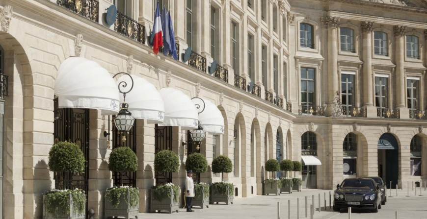 Luxury furniture auctioned off by the legendary Ritz hotel in Paris