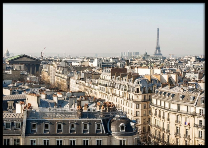 MY LOVE AFFAIR WITH PARIS ROOFS...