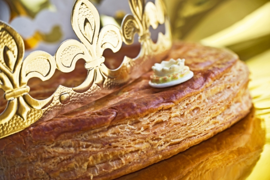 The King Cake, a typically French tradition